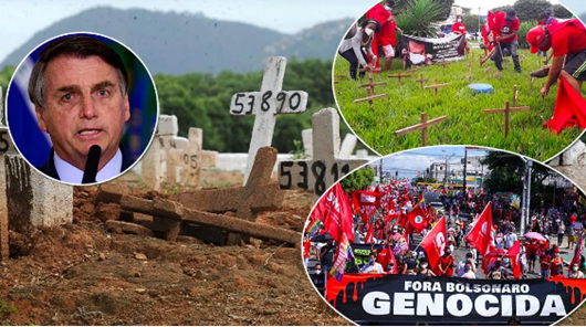 manifestações contra o ogoverno bolsonaro