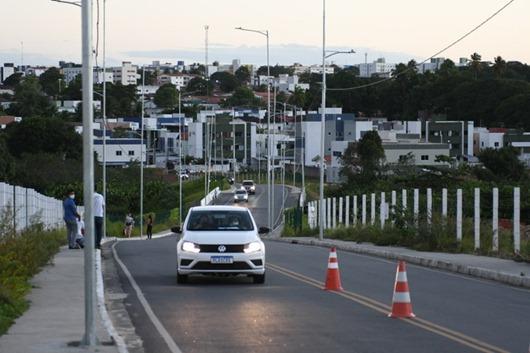 obras de mobilidade urbana na Zona Sul de João Pessoa