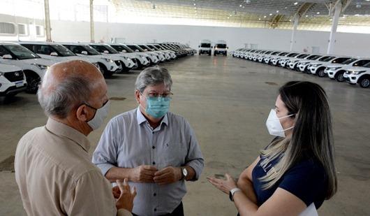 João azevêdo_novos carros_Saúde