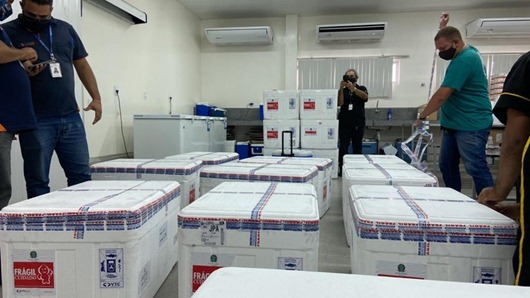 Paraíba-vacinas contra a Covid-19