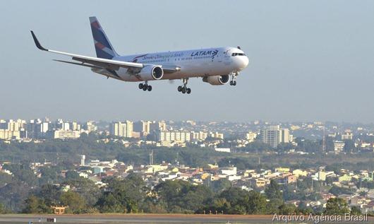 avião_Arquivo Agência Brasil