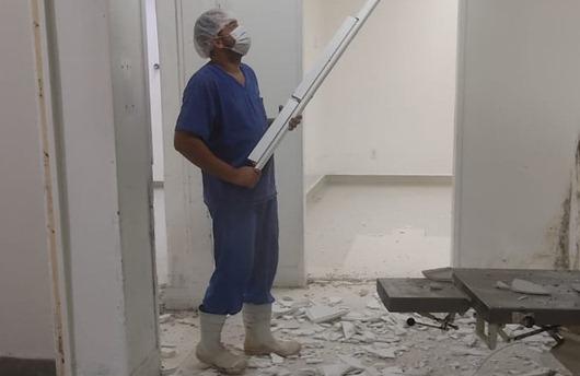 reforma_bloco cirúrgico_hospital de Patos