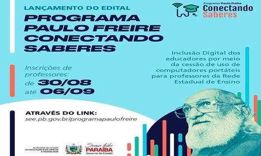 Edital_Programa Paulo Freire