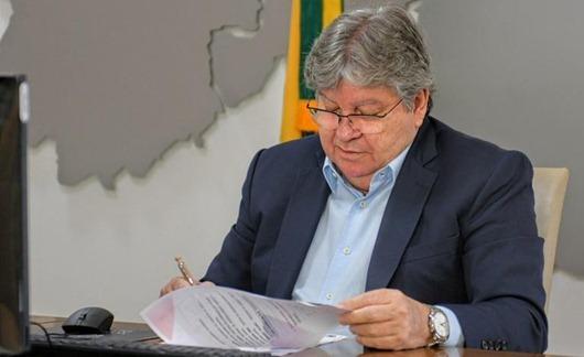 João Azevêdo_sanção