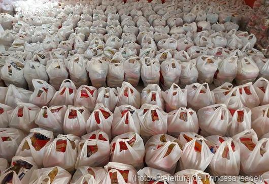kit de alimentação e higiene_Prefeitura de Princesa Isabel