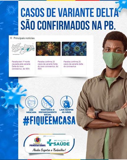 Campanha Preventiva contra a Covid-19_Secretaria de Saúde de Princesa Isabel