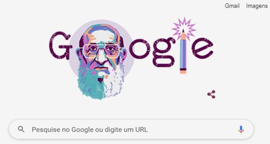 Centenário de Paulo Freire_Google
