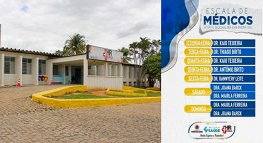 escala de médicos_Hospital Regional de Princesa Isabel