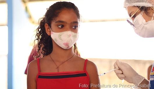 vacina contra Covid-19_Secretaria de Saúde de Princesa Isabel
