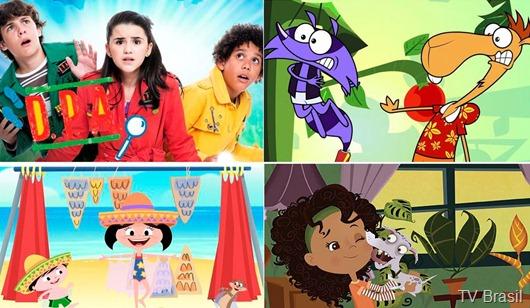 TV Brasil lança nova programação TV animada